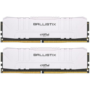 Ključni set Ballistix White 16GB (2x8GB) DDR4-3000 UDIMM PC4-24000 CL15, 1.35V