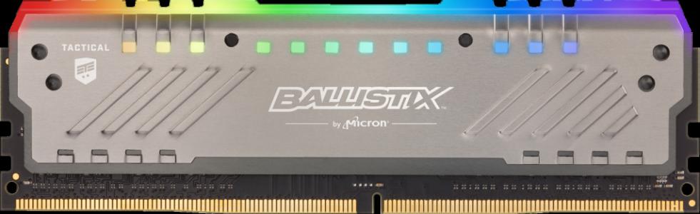 Presudni Ballistix taktički tragač RGB 8GB DDR4-3000 UDIMM PC4-24000 CL15, 1.35V