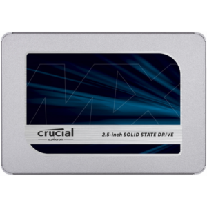 Crucial MX500 250GB SATA 2.5 7mm (s 9.5mm adapterom) Interni SSD