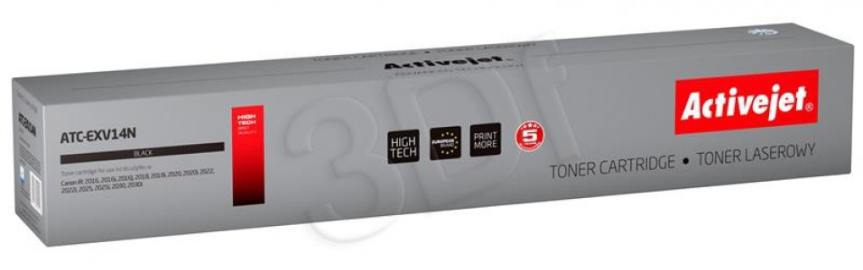 Toner ActiveJet Black C-EXV14