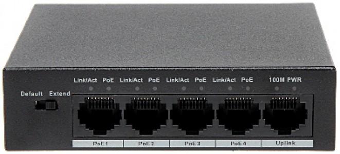 Dahua mrežni prekidač PFS3005-4P-58