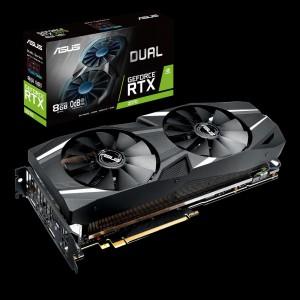 Grafička kartica ASUS GeForce RTX 2070 DUAL, 8GB GDDR6, PCI-E 3.0