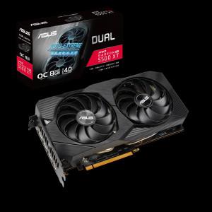Grafička kartica ASUS ROG Radeon RX 5500 XT Dual OC Evo, 8GB GDDR6, PCI-E 4.0