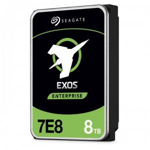Seagate 8TB Exos SATA 7200 256MB 7E8 512E / 4kn