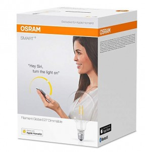 Ledvance / Osram 4058075091108 SMART + žarulja s nitima 5.5W 650lm Bluetooth - APPLE HOME KIT