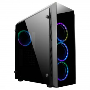Chieftec SCORPION II USB3.1 ATX RAINBOW RGB kućište, crno