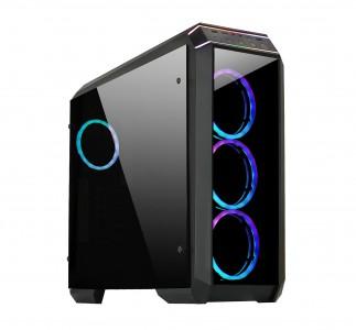 CHIEFTEC GP-02B-OP USB3 ATX RGB kućište, crno