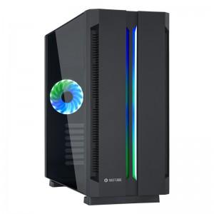 Kućište Chieftronic G1 RGB ATX + daljinski upravljač, crno