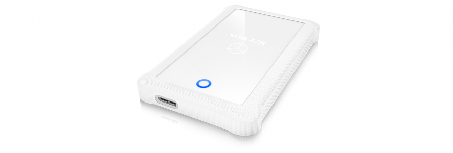 "Icybox IB-233U3-Wh Vanjski pretinac, 2,5 ""SATA, USB 3.0, bijeli"
