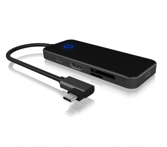 Icybox IB-DK4025-CPD USB-C priključak s napajanjem