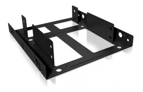 """Icybox adapter za 2 × SSD / HDD od 2,5 """"do 3,5"""" za montažu u kućište"""