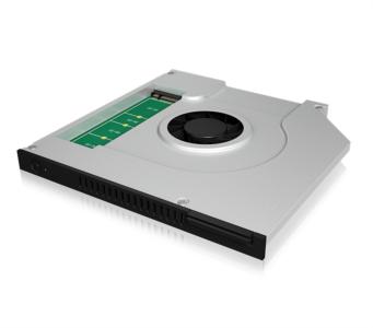 Icybox adapter za M.2 SATA SSD v DVD enoti prenosnika