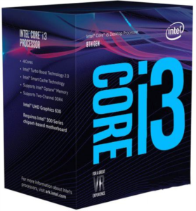 Intel Core i3 8350K BOX procesor, Coffee Lake