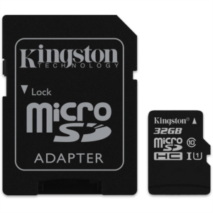 KINGSTON microSDHC 32GB Class10 UHS-I
