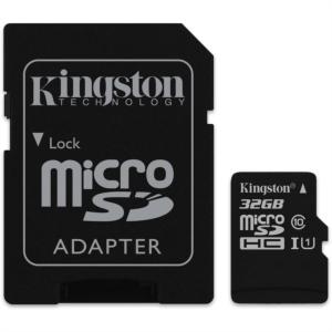 KINGSTON microSDHC 32GB Class10 UHS-I