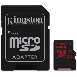 KINGSTON 64GB MICRO SDXC UHS-I U3 90/80MB/s SPOMINSKA KARTICA+ SD ADAPTER