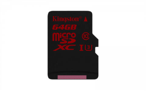 Kingston 64gb microSDHC/SDXC UHS-I U3 +adapter