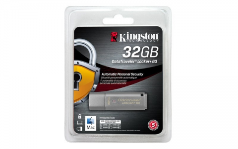 KINGSTON DTLPG3 32GB USB3.0 DataTraveler Locker + G3 spominski ključek