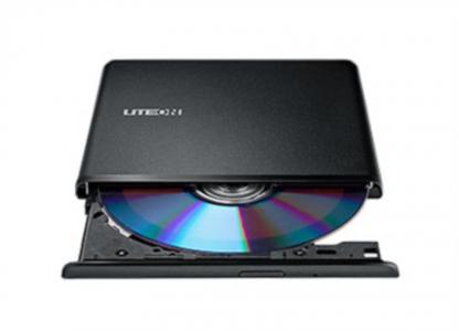 Liteon ES1 DVD-RW 8X USB ultra tanki vanjski plamenik, crna