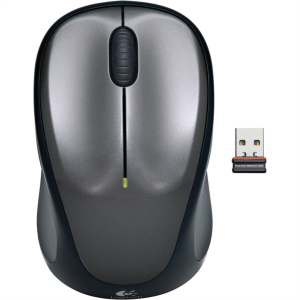 Logitech M235 Wireless mini miška, siva