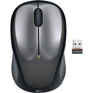 Logitech M235 Wireless mini miška, siva