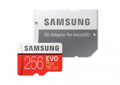 Evo Plus microSD Card 256GB