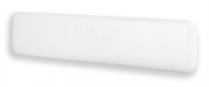 Grijač na mlinskoj ploči 1000w bijeli čelik niskog profila