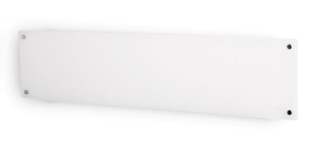Mehanicna ploča grijača 1000W bijela stakla niskog profila