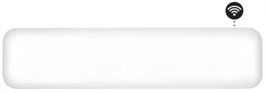 MIJALNI zidni radijator 800W + WiFi niskog profila