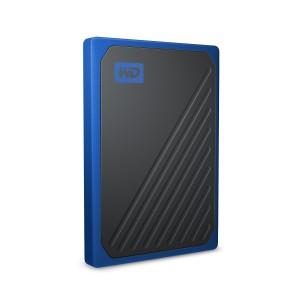 WD 500GB SSD Moja putovnica Go, USB 3.0, plava