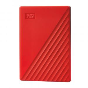 WD Moja putovnica 2TB USB 3.0, crvena