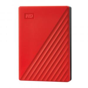 WD Moja putovnica 4TB USB 3.0, crvena
