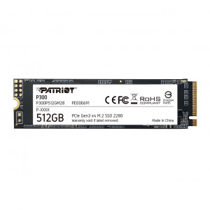 Patriot P300 512GB M..2 NVMe SSD PCIe Gen 3 x4