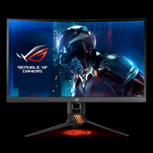 ASUS PG27VQ 27 '' ROG SWIFT Gaming Curved Monitor, 2560 x 1440, 1ms, 165Hz, DisplayPort, USB3.0