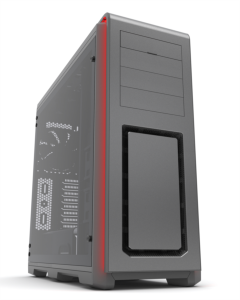 PHANTEX ENTHOO LUXE TEMPERED STAKLO USB3 EATX sivo kućište