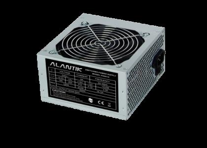 ALANTIK PS501A 12cm 500W ATX power supply