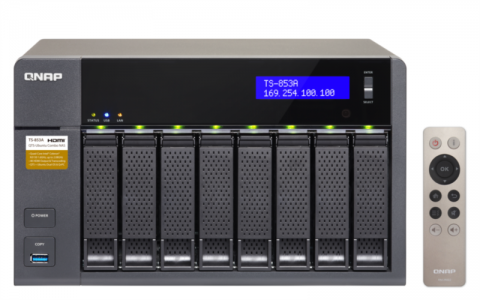 QNAP TS-853A NAS strežnik za 8 diskov