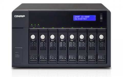 QNAP UX-800P razširitvena enota za NAS strežnike