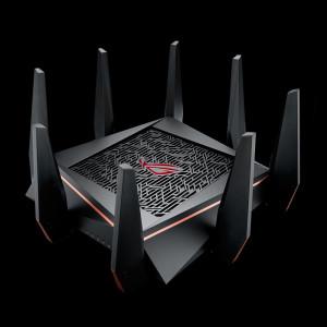 ASUS ROG Rapture GT-AC5300 Gigabitni tropojasni bežični usmjerivač AC5300, 802.11ac / a / g / b / n, 5334Mbps