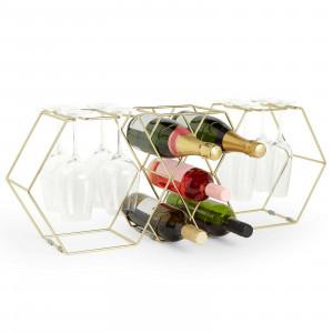 VonShef stalak za vino i čašu