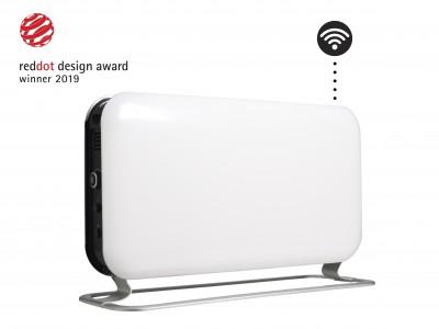 Mlinski konvektor radijatora čelik Wi-Fi LED 1200W