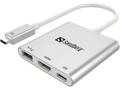 Sandberg USB-C Mini Dock HDMI+USB