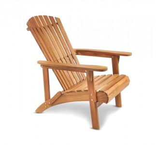 VonHaus drvena vrtna stolica