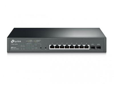 TP-Link JetStream 8-Portni Gigabit Smart PoE + preklopnik, 2 × SFP