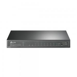 TP-LINK JetStream T1500G-10PS (TL-SG2210P), Gigabit prekidač, 10/100/1000 Mbps, PoE, 8-priključni
