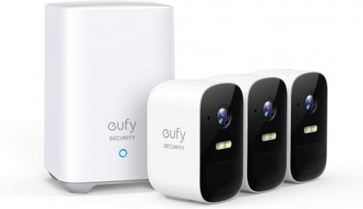 Komplet Eufy by Anker EufyCam 2C Skup od 3 nadzorne kamere i bazna stanica