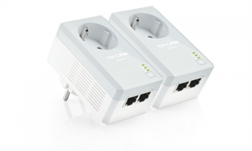 TP-LINK TL-PA4020P KIT AV500 2-port Powerline Adapter z vtičnico