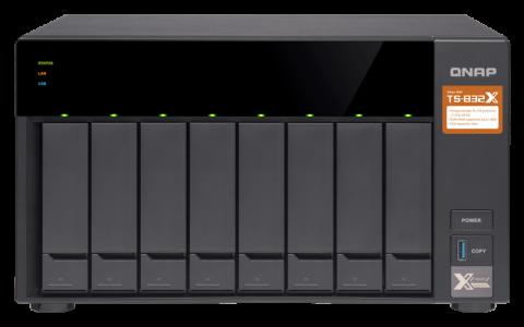 QNAP TS-832X NAS poslužitelj za 8 diskova