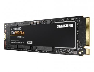 Samsung 250GB 970 EVO Plus SSD NVMe M.2 pogon