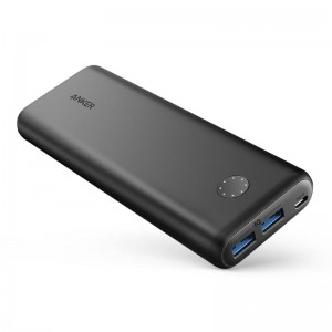 Anker PowerCore II 20.000 mAh PowerBank PowerIQ 2.0 QC 3.0 powerbank crna